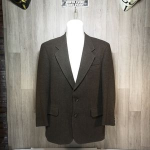 Modern Hugo Boss Brown Wool Blazer Apollon 50R